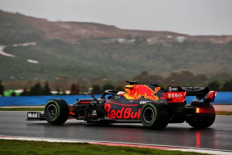 F1 | 雨で路面コンディションが悪化。首位はフェルスタッペン【タイム結果】F1第14戦トルコGPフリー走行3回目
