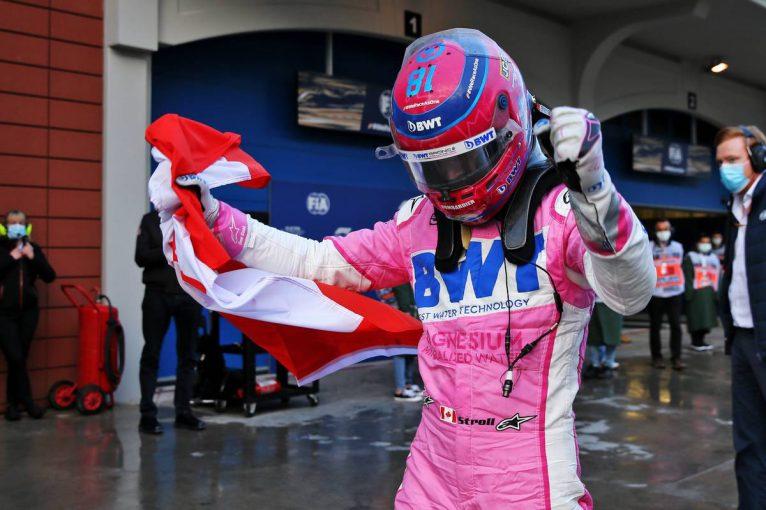 F1 | ウエットで圧巻の速さを見せたランス・ストロールが初のポールポジションを獲得【予選レポート/F1第14戦】