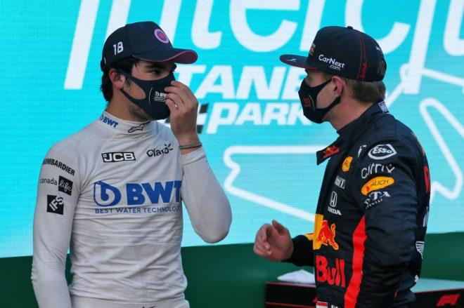ランス・ストロール(レーシングポイント)&マックス・フェルスタッペン(レッドブル・ホンダ)