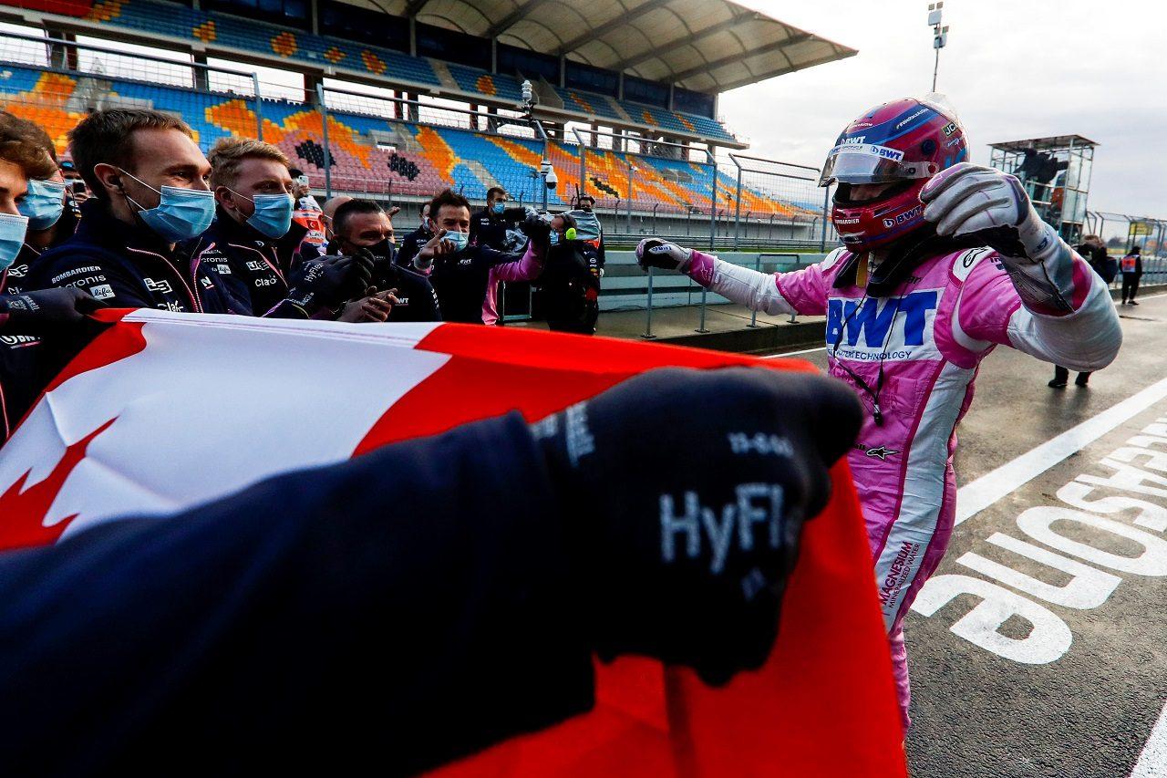 2020年F1第14戦トルコGP ランス・ストロール(レーシングポイント)が初ポールポジションを獲得