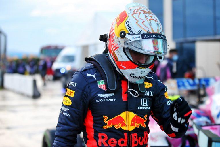 F1 | フェルスタッペン激しく落胆「ポールのはずが2番手だなんて受け入れ難い」レッドブル・ホンダ【F1第14戦予選】