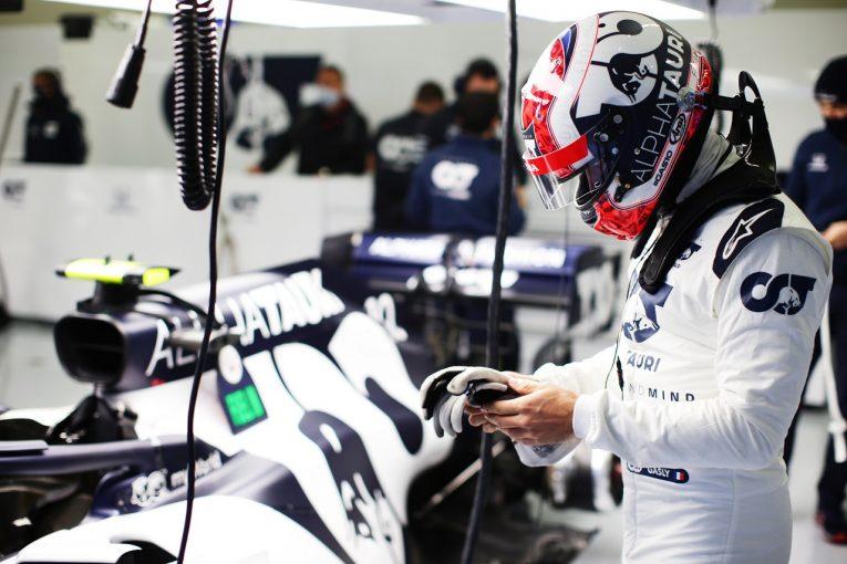 F1   ガスリー15番手「いつもはウエットで速いのに、タイヤをうまく使えず」アルファタウリ・ホンダ【F1第14戦予選】