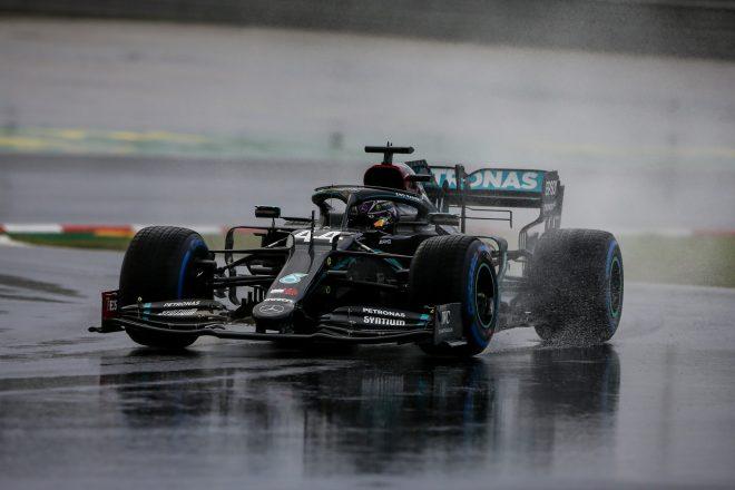 2020年F1第14戦トルコGP ルイス・ハミルトン(メルセデス)