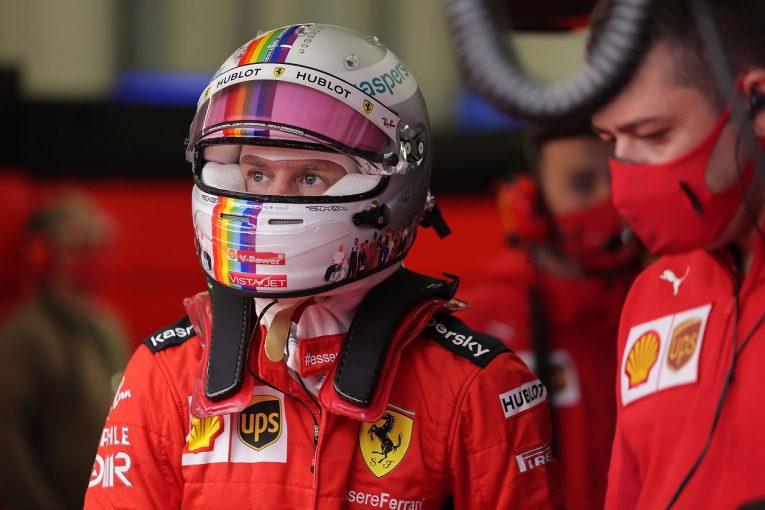 F1   ベッテル12番手「悪コンディションでマシンのポテンシャルを発揮できなかった」フェラーリ【F1第14戦予選】