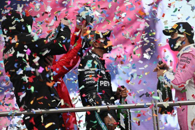 2020年F1第14戦トルコGP 表彰式