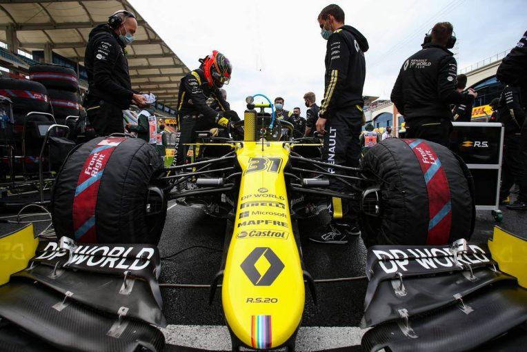F1 | オコン「スタート直後に2度ヒットされ、大量得点のチャンスはその時点で消えた」:ルノー F1第14戦決勝