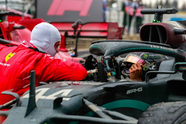 F1 | 【気になる一言】「これは僕たちにとって特別な瞬間だ」ベッテル、新たな歴史を作り上げたハミルトンを祝福