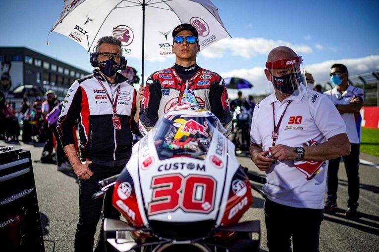 MotoGP   中上貴晶「言葉がありません。このような形でレースが終わってしまい残念」/MotoGP第14戦バレンシア決勝