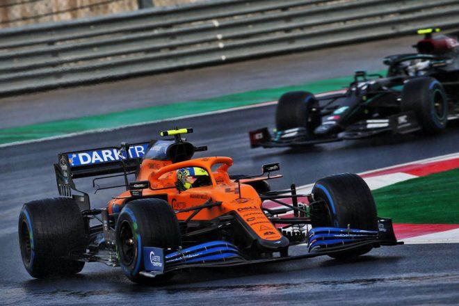 2020年F1第14戦トルコGP ランド・ノリス(マクラーレン)