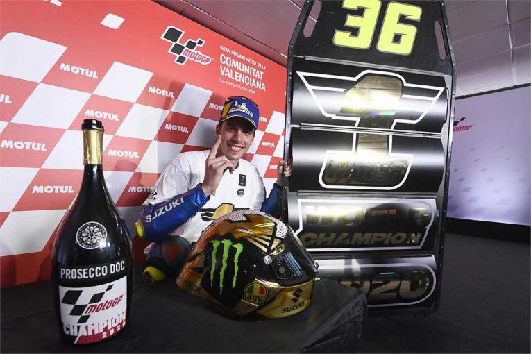 MotoGP | MotoGP王者のジョアン・ミル「このチャンスを与えてくれたスズキに心から感謝」/第14戦バレンシアGP