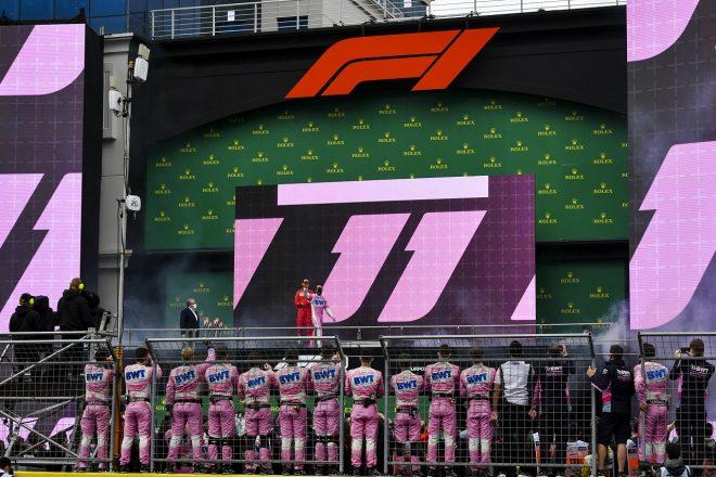 2020年F1第14戦トルコGP セルジオ・ペレス(レーシングポイント)が2位表彰台を獲得