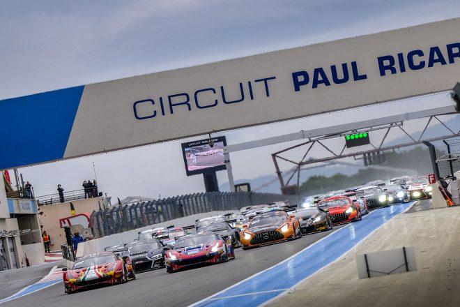 2020年GTワールドチャレンジ・ヨーロッパ第8戦ポール・リカール1000km スタートシーン