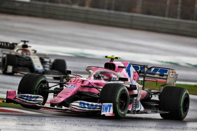 F1 | レーシングポイントF1、ストロールの失速は「フロントウイング裏側の損傷」によるものと明かす/F1トルコGP