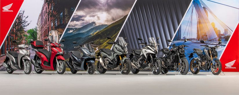MotoGP | ホンダ、ヨーロッパ向け二輪車の2021年型モデルに7機種を追加