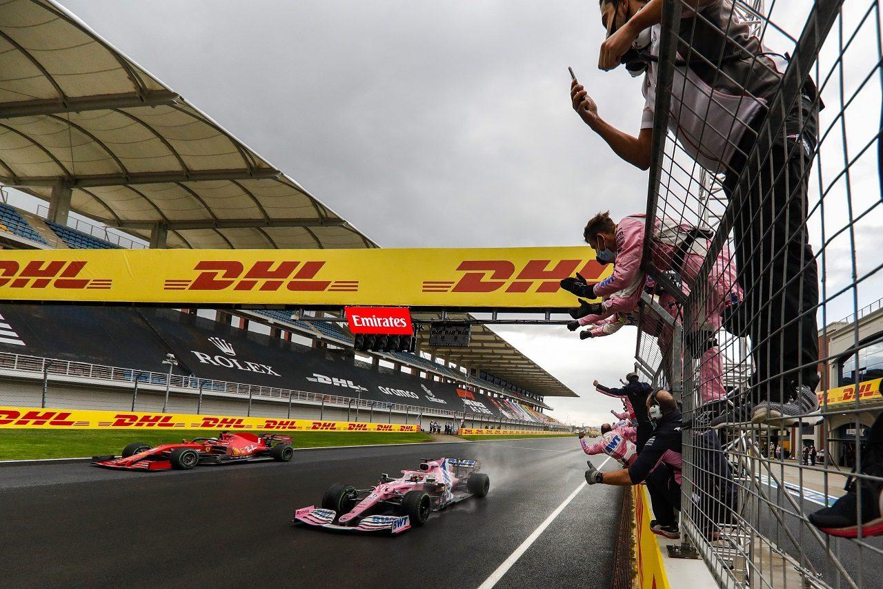 2020年F1第14戦トルコGP セルジオ・ペレス(レーシングポイント)が2位でフィニッシュ