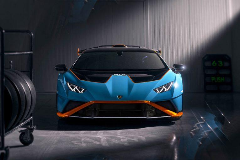 クルマ | ランボルギーニ、レースカー直系の公道仕様スーパースポーツ『ウラカンSTO』発表