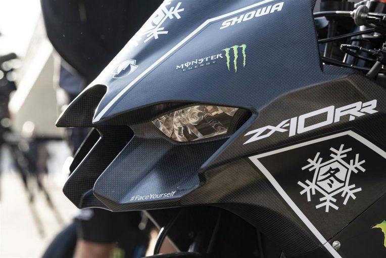 MotoGP   カワサキ、SBKのウインターテストで新型ZX-10RRを投入。2021年型はフロントフェアリングが大幅変更