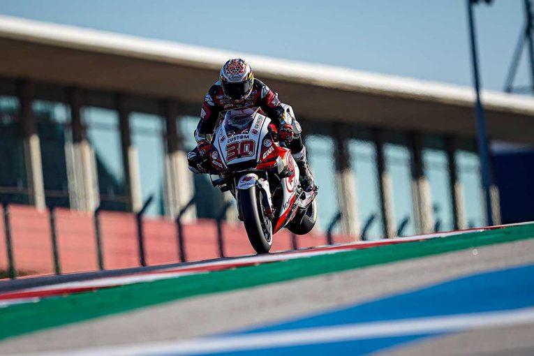 MotoGP | 中上貴晶「RC213Vで初めて走ったので多忙な一日に」/MotoGP第15戦ポルトガルGP初日