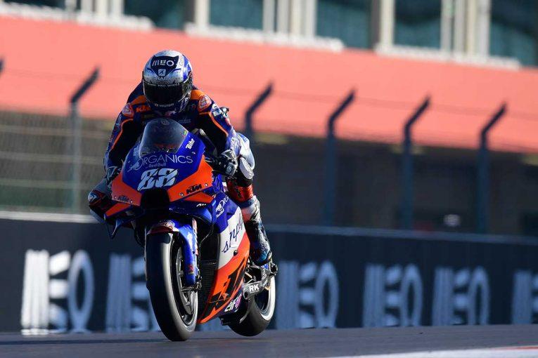 MotoGP   MotoGP第15戦:レッドブルKTMテック3のオリベイラが母国グランプリで初ポール獲得。中上貴晶は11番手