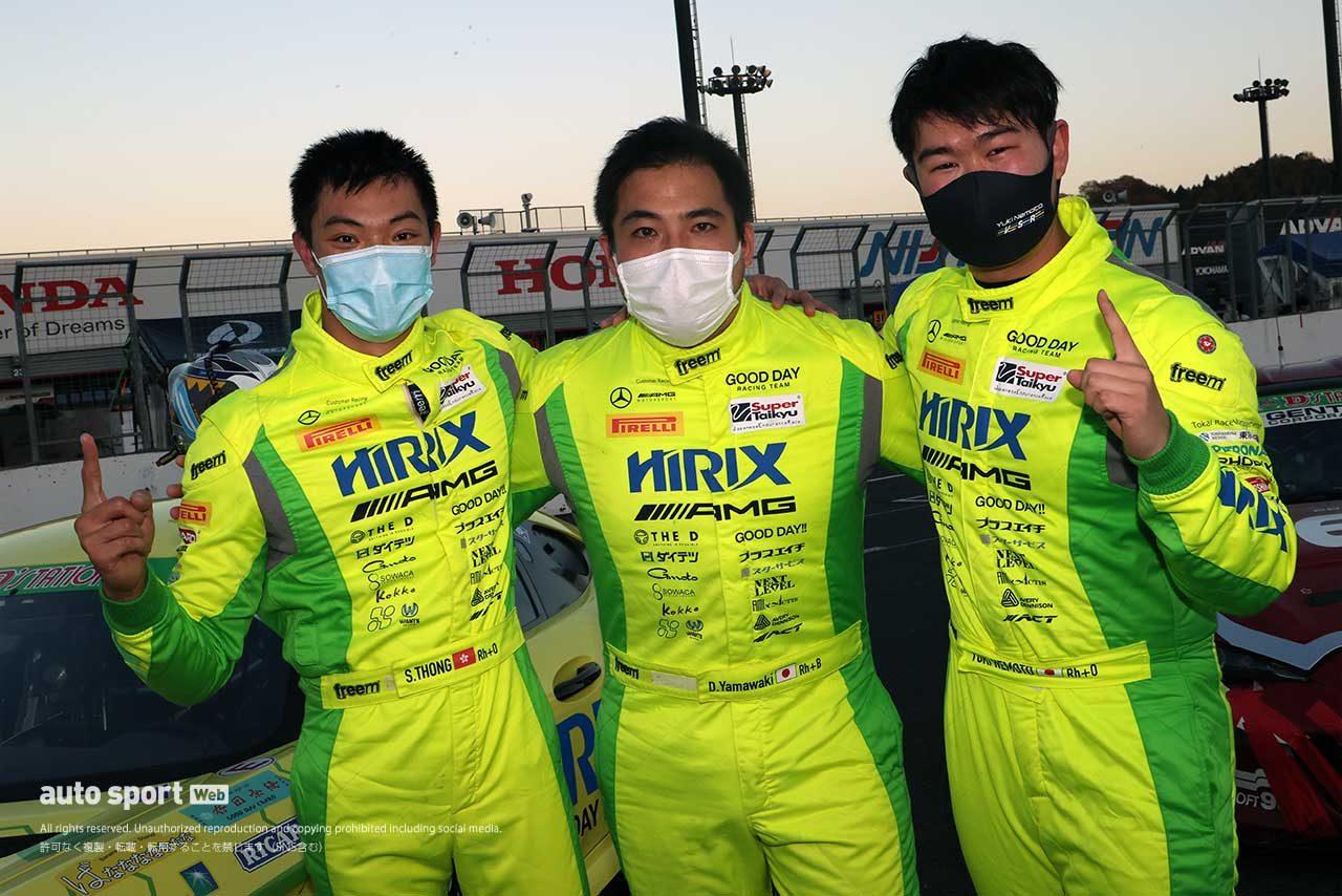 888号車HIRIX GOOD DAY RACING AMG GT3(山脇大輔/ショウン・トン/根本悠生)