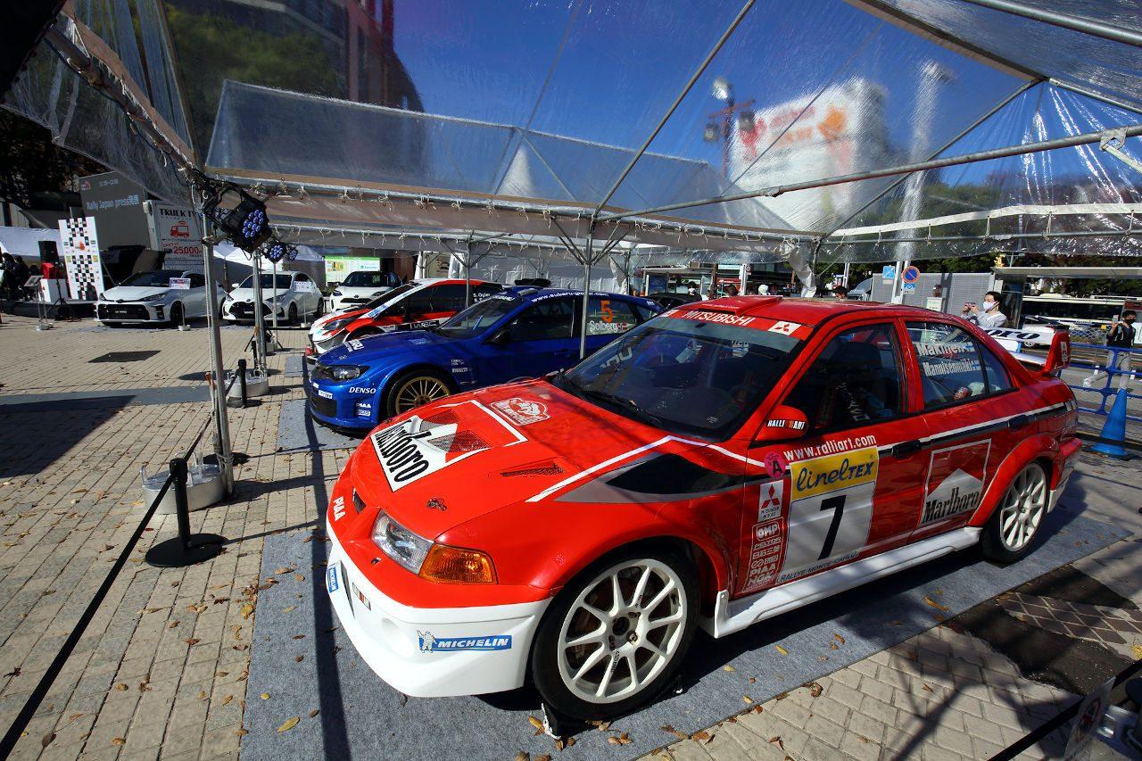 WRC:ラリージャパン2021は豊田スタジアムがサービスパークに。優勝トロフィーもお披露目