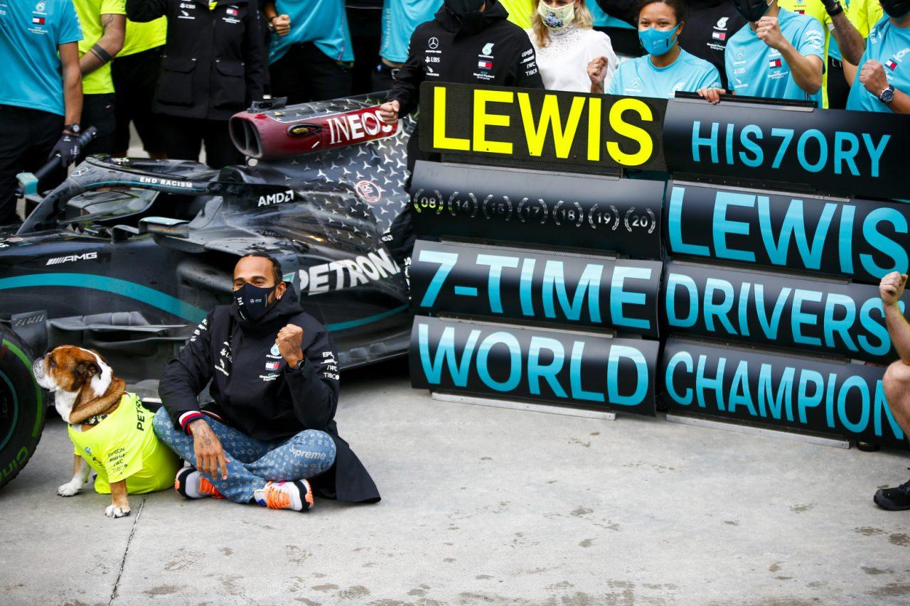 2020年F1トルコGP ルイス・ハミルトン(メルセデスAMG)