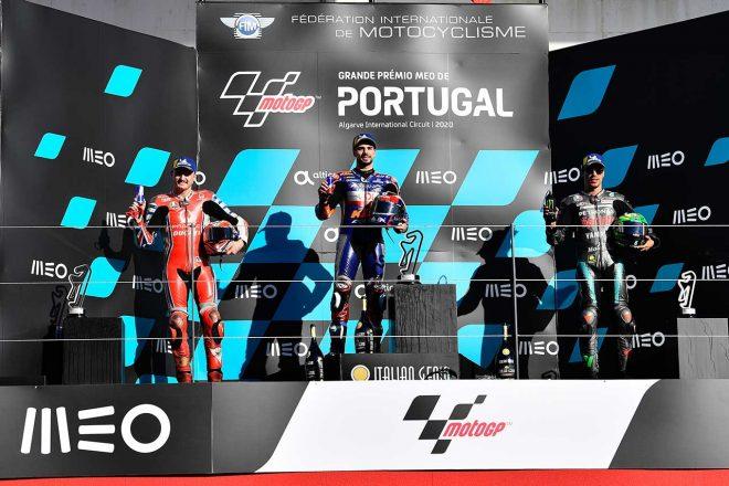 MotoGP | スティリアGP以来の優勝を挙げたオリベイラ「前回とは感情が違う」/MotoGP第15戦決勝トップ3コメント