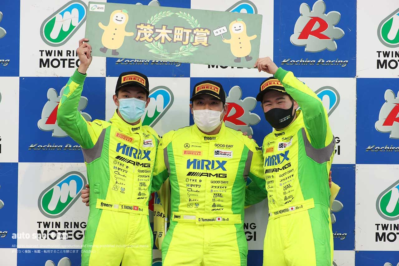 HIRIX GOOD DAY RACING AMG GT3(山脇大輔/ショウン・トン/根本悠生)