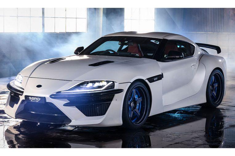 クルマ | サードから究極のコンプリートカー『SARD SUPRA』登場。ダイナミックボディで国内20台限定販売