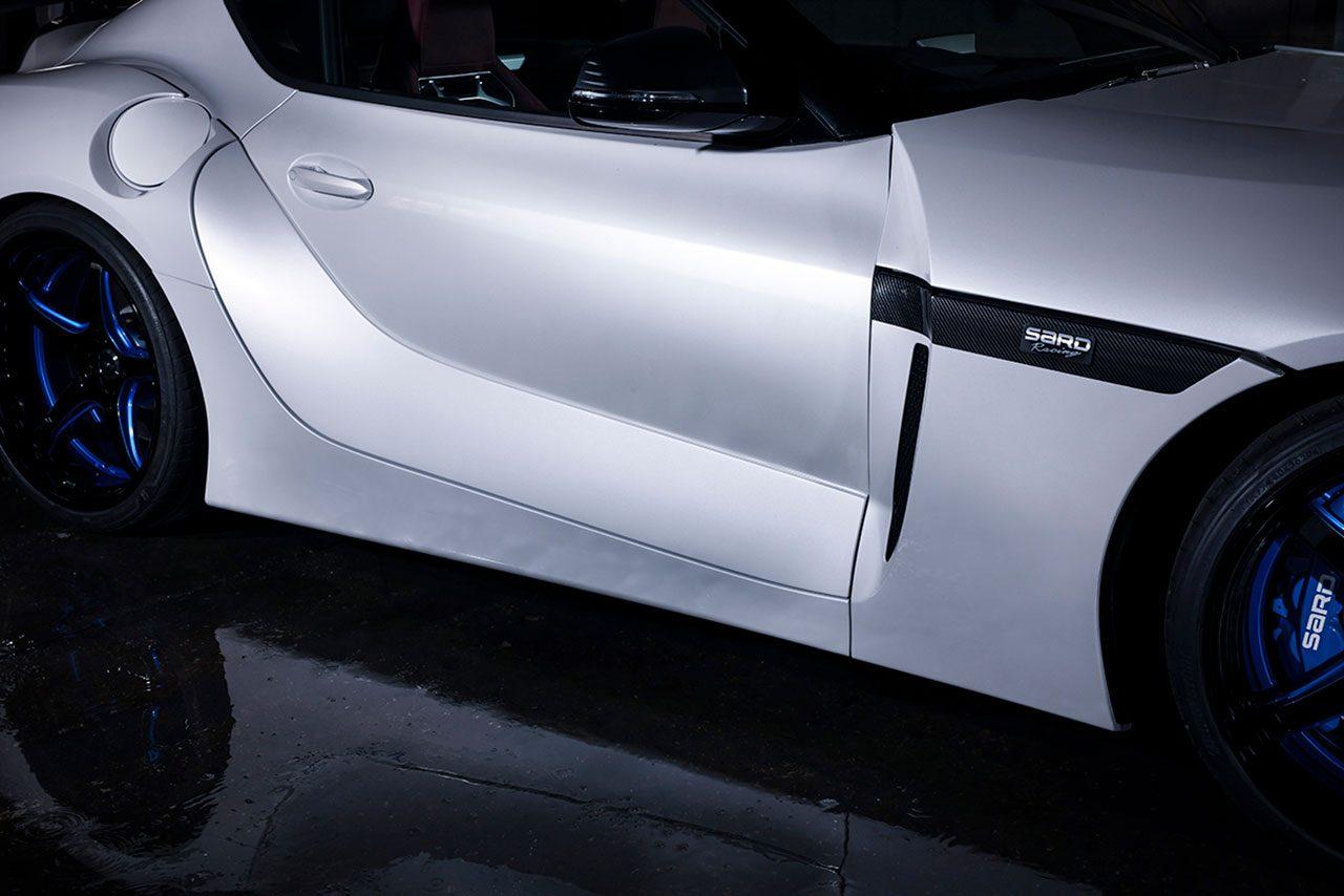 サードから究極のコンプリートカー『SARD SUPRA』登場。ダイナミックボディで国内20台限定販売