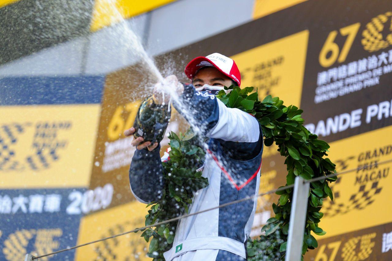 コロナ禍で開催のマカオグランプリ2020、アンドレ・クート以来初のマカオ人ウイナー誕生
