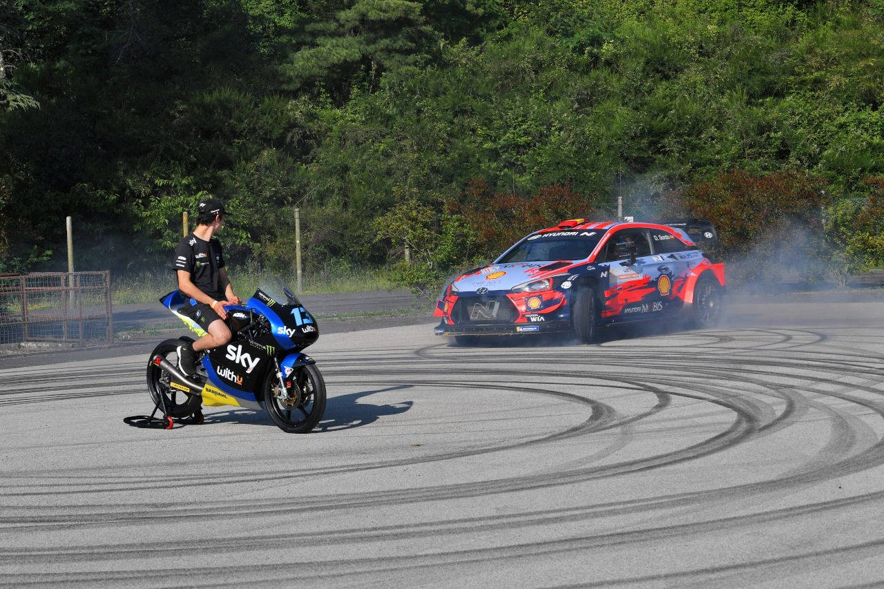 MotoGP今季3勝のモルビデリ、母国でWRCデビューへ。ラリー・モンツァ参戦決定