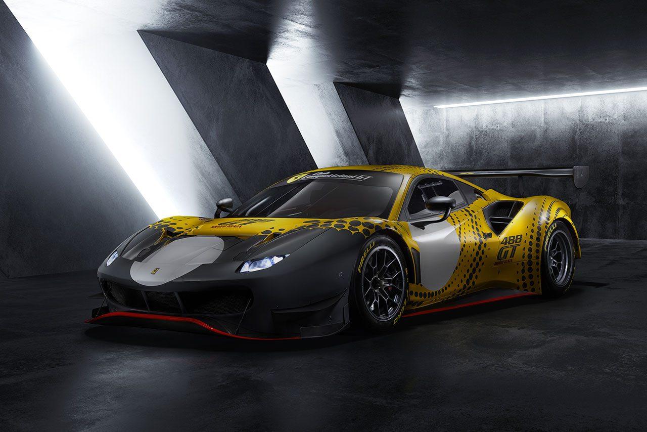 GT3とGTEマシンを融合させたサーキット走行専用モデル、フェラーリ488 GT Modificataを初公開