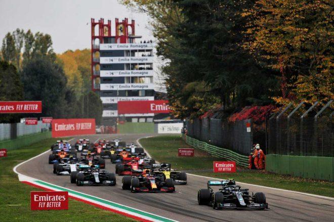 2020年シーズン、14年ぶりにF1が開催されたイモラ・サーキットP