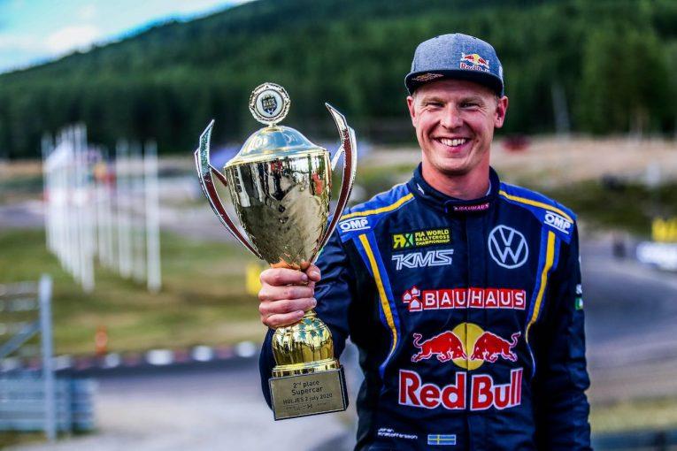 ラリー/WRC   WorldRX:12月開催予定の最終戦ニュルブルクリンクはキャンセル。クリストファーソンが王者に
