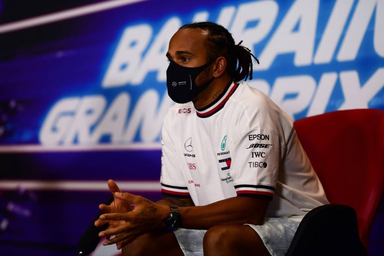 F1   F1バーレーンGP木曜会見(1):サラリーキャップ導入に慎重なハミルトン「現状のツケを若手に回すのはよくない」