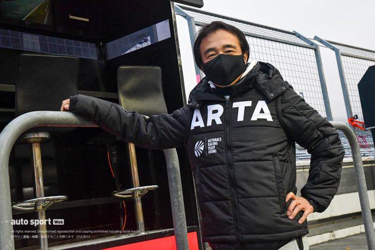 スーパーGT | スーパーGT:S耐岡山でクラッシュの高木真一が元気な姿でSGT第8戦富士に姿をみせる