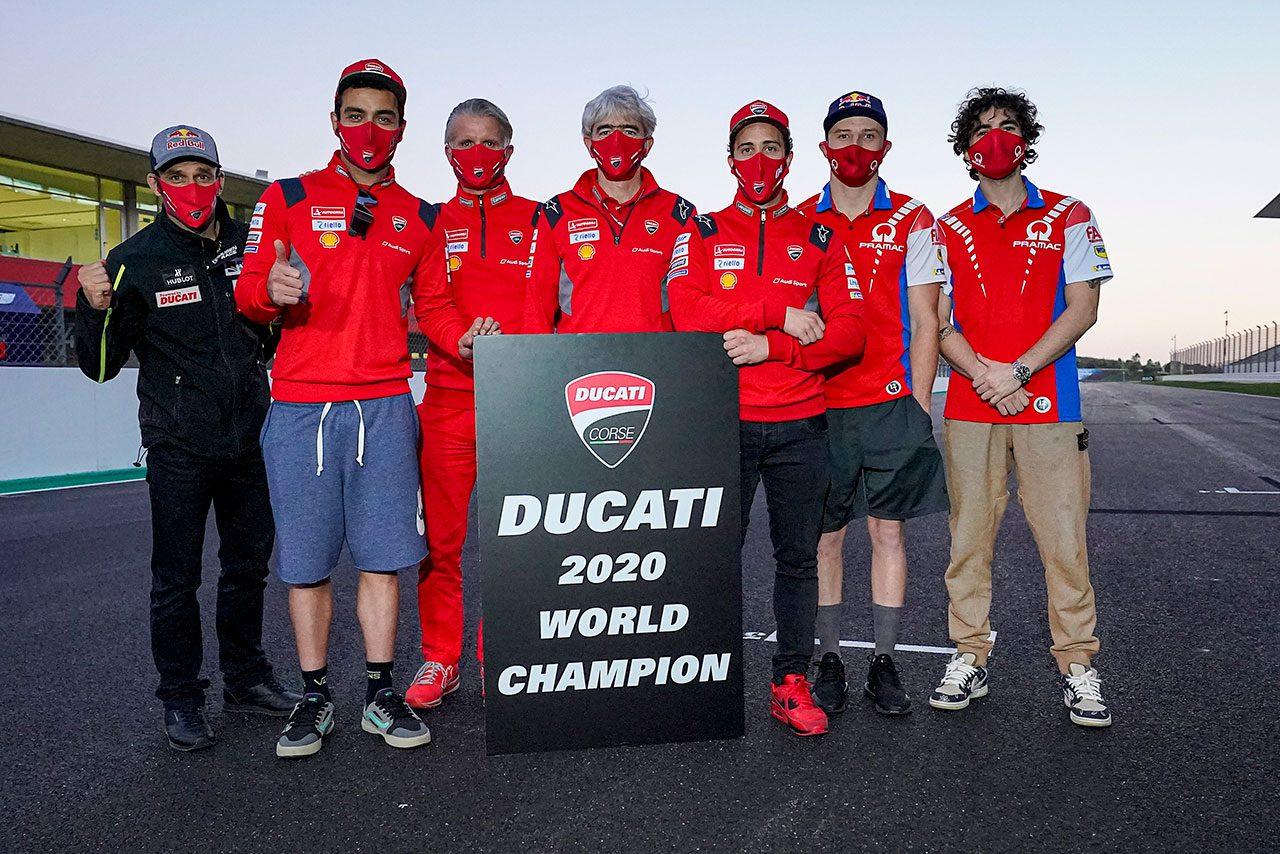 MotoGP:ドゥカティ、5人のライダーで2007年以来2度目のコンストラクターズタイトルを獲得