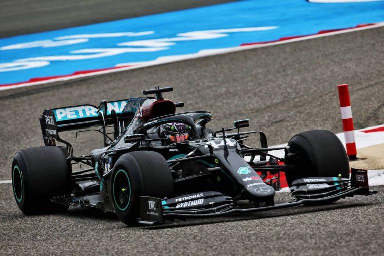 F1 | F1バーレーンGP FP1:2021年用タイヤをテスト。ハミルトンが首位、ガスリーがホンダPU勢最上の5番手
