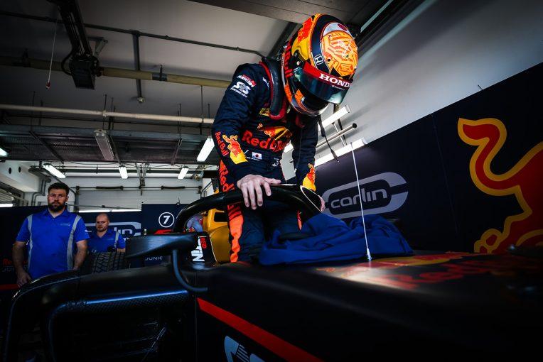 海外レース他 | 角田裕毅、「前のクルマに追いついてダウンフォースが抜けてしまった。レースはとにかく攻めて走る」/FIA-F2第11戦予選