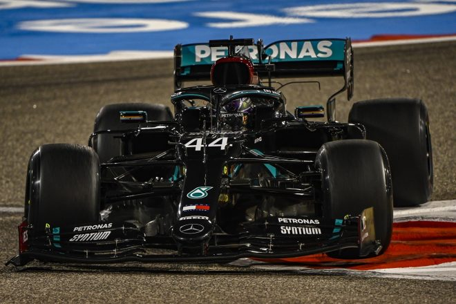 2020年F1第15戦バーレーンGP ルイス・ハミルトン(メルセデス)