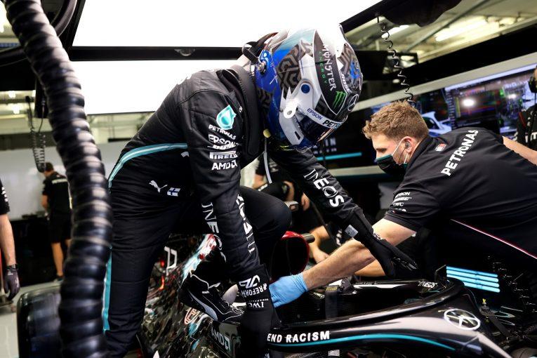 F1 | ボッタス3番手「序列はまだ予想できないが、レッドブルは手強そう」メルセデス【F1第15戦金曜】