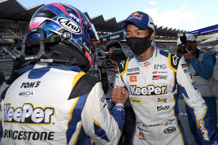 スーパーGT   GRスープラ勢がホームコースでトップ4独占。KeePerがタイトル獲得へ貴重な1ポイントを追加【第8戦富士GT500予選】