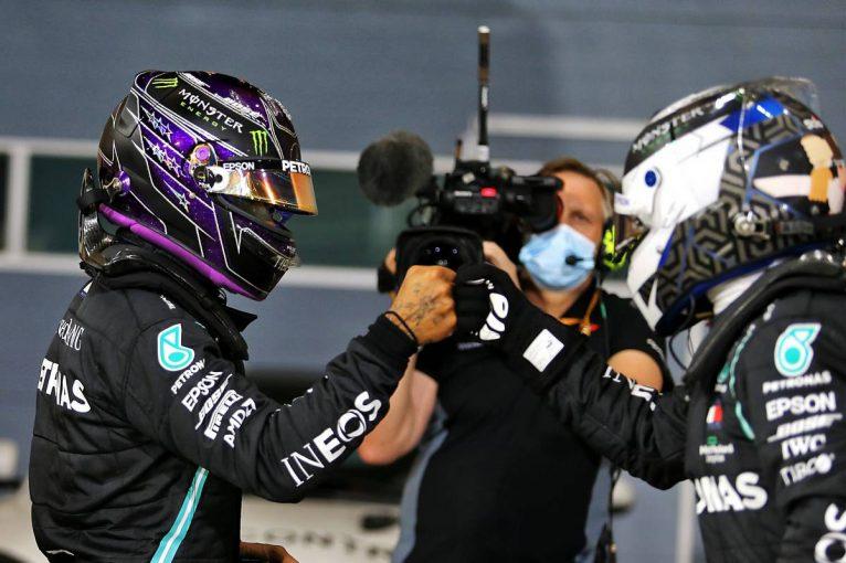 F1   王者ハミルトンが今季10度目のポール獲得。レッドブル・ホンダが2列目に並ぶ【予選レポート/F1第15戦】