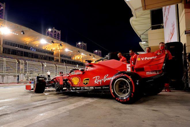 2020年F1第15戦バーレーンGP セバスチャン・ベッテル(フェラーリ)