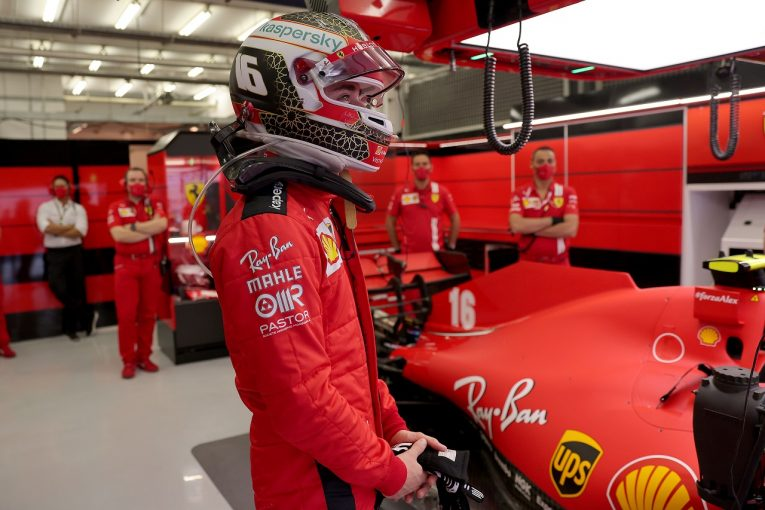 F1   ルクレール予選12番手「6列目スタートがタイヤの面で大幅に有利とは思わない」フェラーリ【F1第15戦】