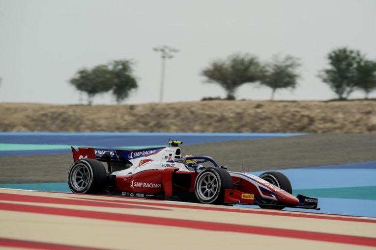 海外レース他 | シュワルツマンが4勝目。角田裕毅は選手権5位後退も3位まで5点差【FIA-F2第11戦バーレーン レース2】