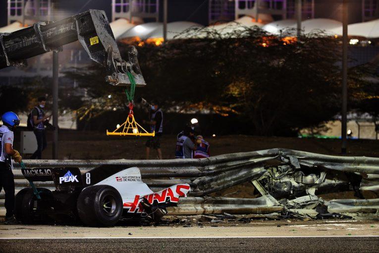 F1 | F1 Topic:大クラッシュのロマン・グロージャン、バーレーン国防軍病院に救急搬送される