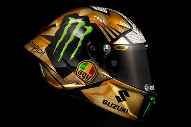 MotoGP:AGVがジョアン・ミルのチャンピオン獲得記念モデルヘルメットを発売。ダイネーゼストアで先行予約受付中
