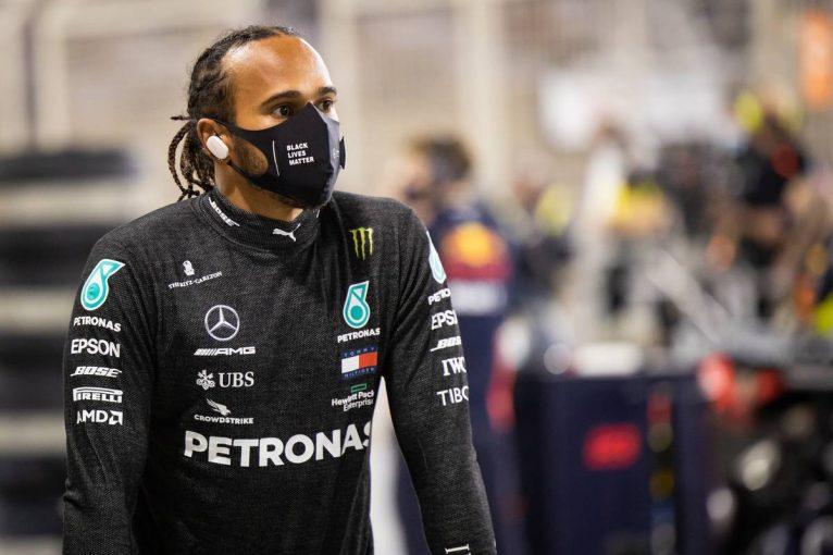 F1 | メルセデスF1のルイス・ハミルトン、新型コロナウイルスに感染。今週末の第16戦サクヒールGPを欠場